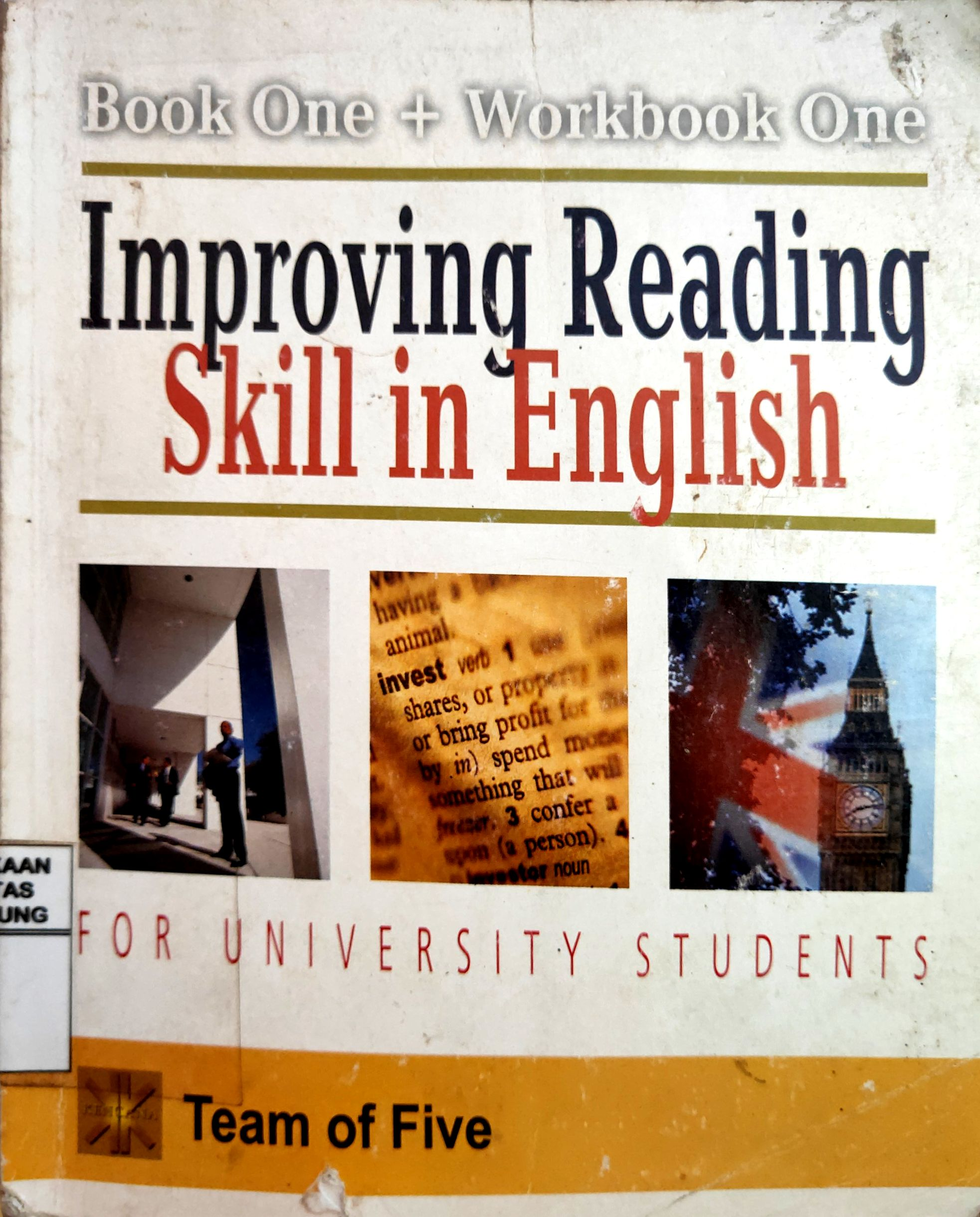 Improving Reading Skill in English for University Student Book One + Workbook One