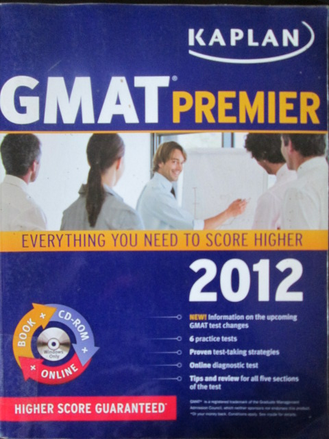 Gmat Premier : Everything You Need To Score Higher 2012