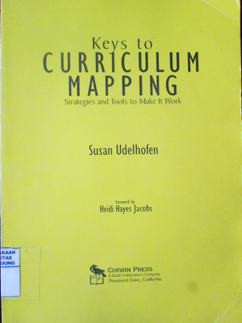 Keys to Curriculum Mapping : STrategies and Tools to Make It Work